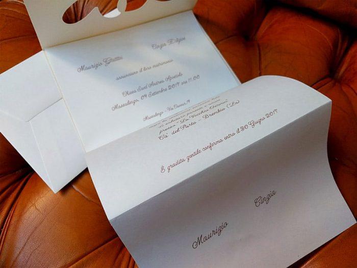 partecipazioni di nozze classiche