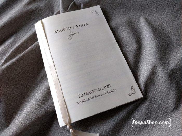 Libretto messa avorio classic