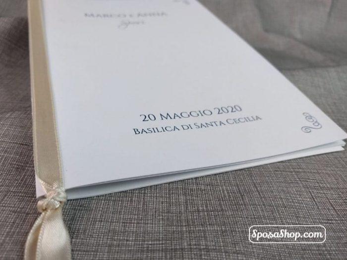 Libretto Messa Bianco Plus