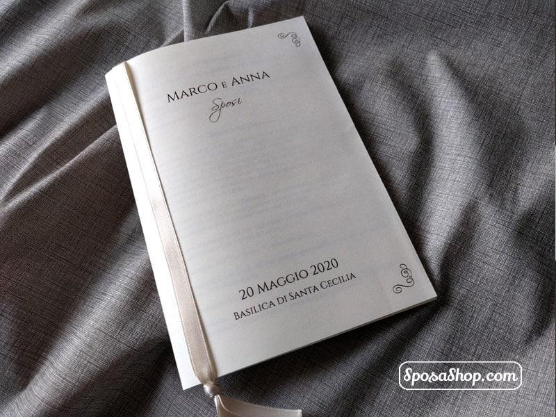 Speciale Libretti Messa Economici Stampa E Rilegatura Compresi Nel